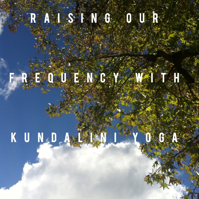 Raising your frequency benefits the whole world