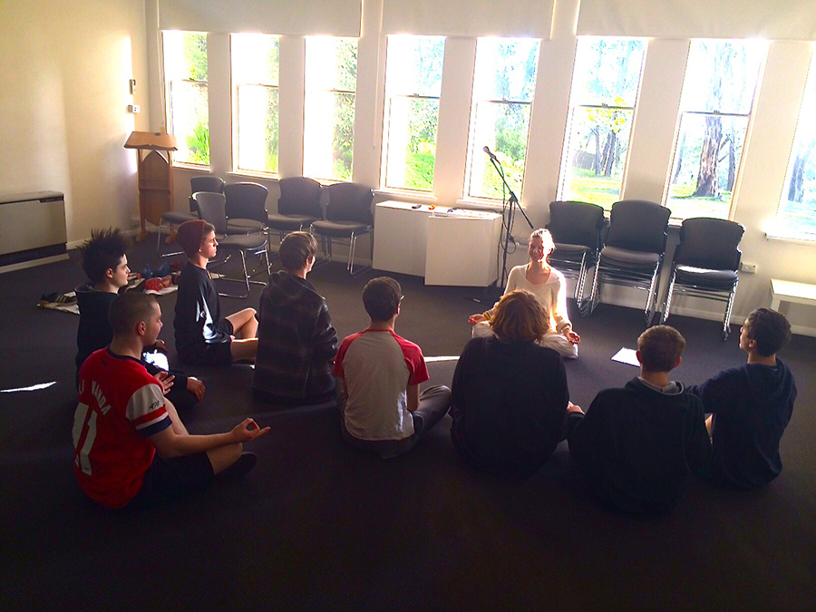 Teaching Teenage boys about posture, breathing and how it's cool and empowering!