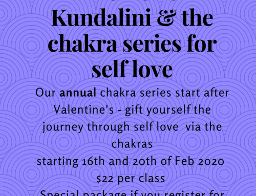 CHAKRA SERIES February 16th – 8 weeks of immersion